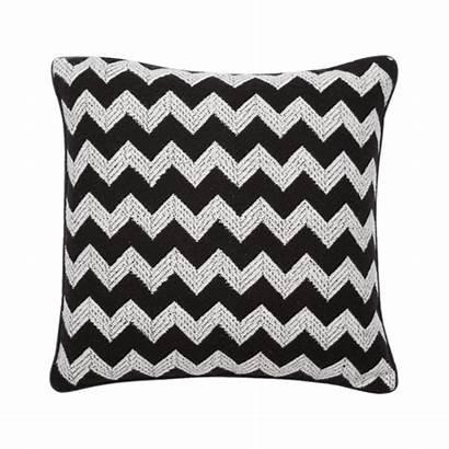 Cushion Fabric Textured Zag Zig Malini Cushions