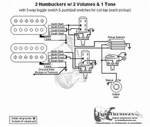 Humbucker Coil Tap Wiring Diagram