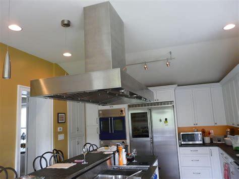 custom manhattan island hood modern kitchen