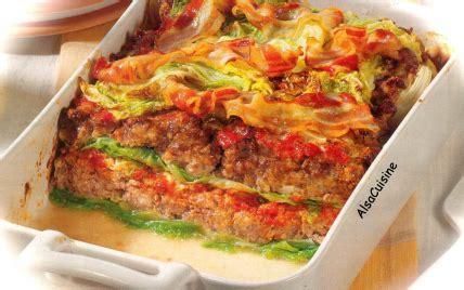 recette fausses lasagnes au chou frise