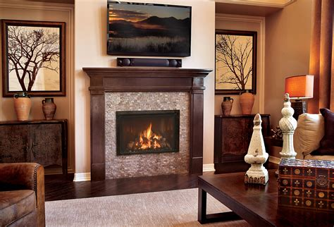 Contemporary Design With A Traditional Ambience by Gas Fireplace Photo Gallery Mendota Hearth