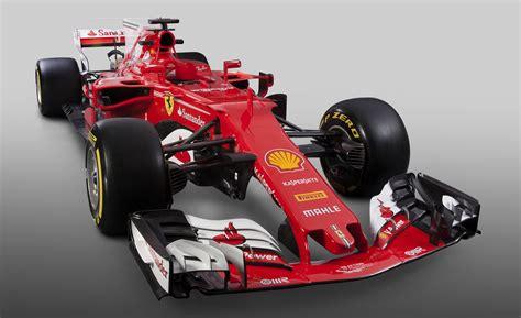 F1 Car Release Dates 2019 : Ferrari Sf70h 2017 F1 Car Revealed, Features Alfa Romeo Logo