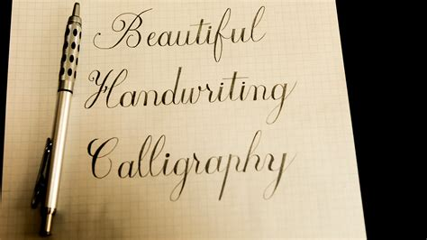 Kimberly Dey Gives You Details About How To Write Calligraphy