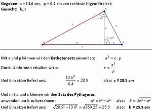 Gleichschenkliges Dreieck Berechnen Online : der lehrsatz des pythagoras lernpfad ~ Themetempest.com Abrechnung