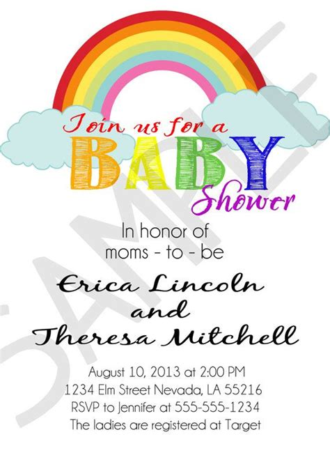 rainbow moms lesbian parents printable personalized baby