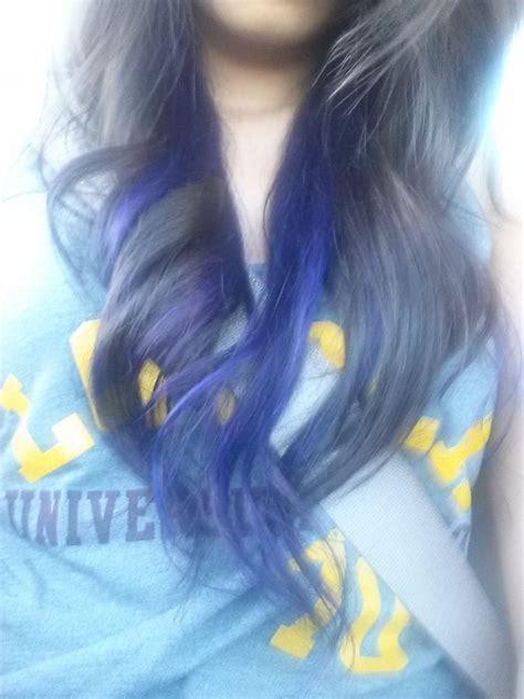 purple highlights    bottom layer yelp