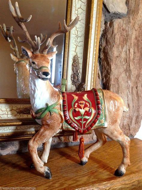 box retired bellacara christmas reindeer deer
