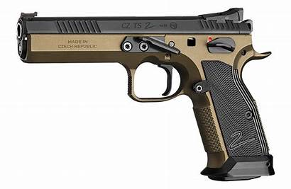Cz Ts2 Tactical Pisztoly Bronze Kaliberinfo Luger