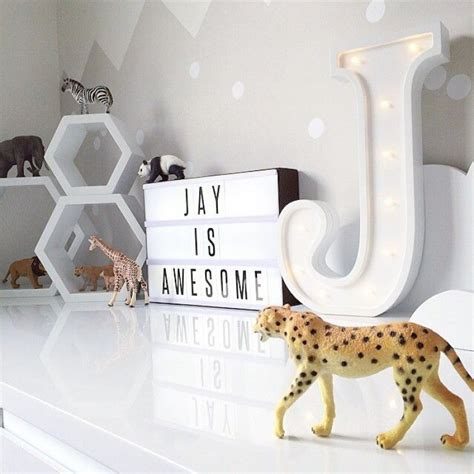 marquee sign  kids room mommo design