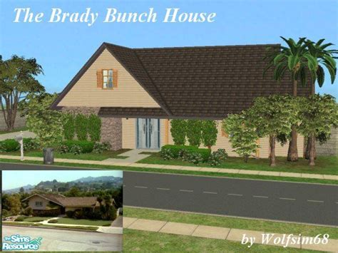 house plans small lot wolfsim68 39 s the brady bunch house