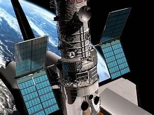 SM3B - Hubble's solar panels unfolding   ESA/Hubble