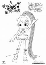 Coloring Betty Spaghetty Spaghetti Madeline Hatter Colouring Eraina Moller Pope Sheets Drawings sketch template