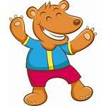Bear Cartoon Clipart Log Pdf