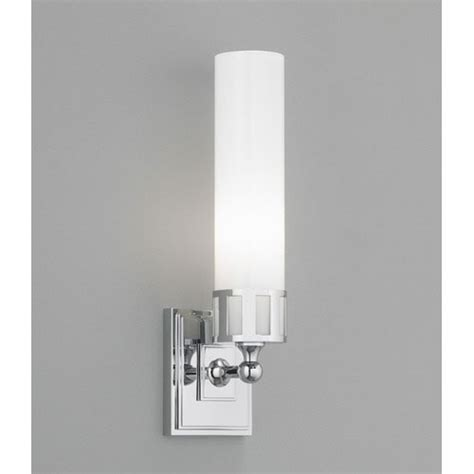 astro chrome single light wall sconce norwell 1 light