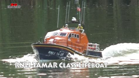 1 16 Rc Boat by 1 16 Model Slipway Tamar Class Lifeboat Rc Boat Scale Run