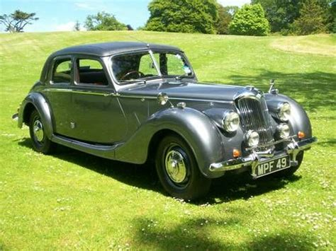 Riley Rmb 2.5 Litre Sports Saloon. Superb Throughout. For