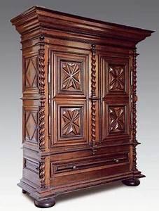armoire en noyer depoque louis xiii vente beaussant With nice les styles de meubles anciens 16 authenticite estimation expert meubles tableaux