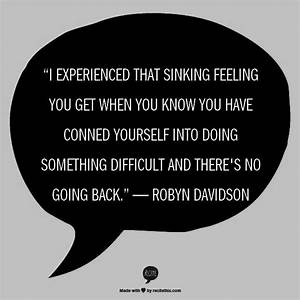 17 Best images ... Robyn Davidson Nomad Quotes
