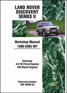 Land Rover Discovery Series Ii Workshop Manual 1999