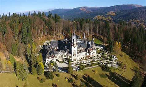 Peles Castle, Sinaia, Romania | Dronestagram