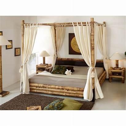 Bamboo Bed Canopy Misool Beds Tioman Ee