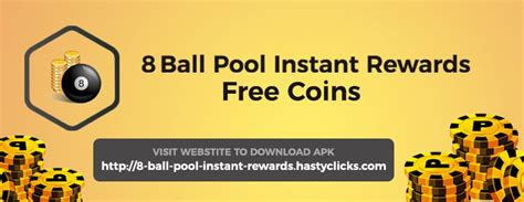 8 pool instant rewards free coins home