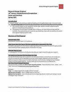 research and development plan template - official research design proposal template and guidelines