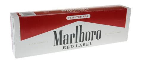 Marlboro Red Label King Size Box | Hy-Vee Aisles Online ...
