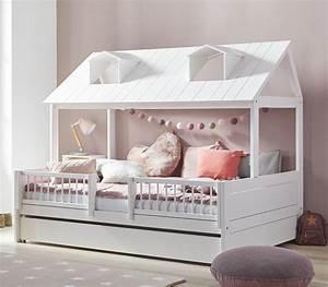 Kinderbett Mit Rausfallschutz 90x200 : lifetime kinderbett kiefer im amerikanischen stil ferienhaus ~ Watch28wear.com Haus und Dekorationen