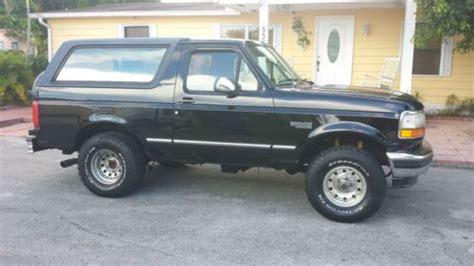 buy   ford bronco xlt sport sport utility  door