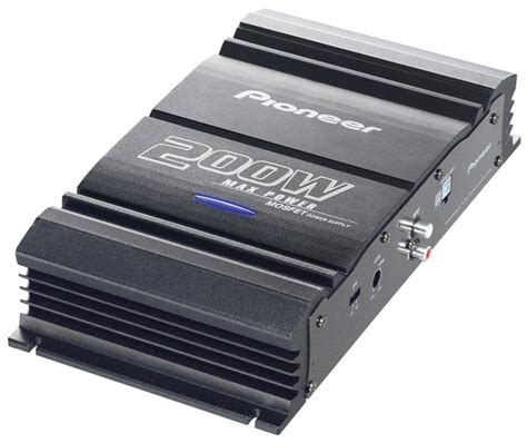 Pioneer Channel Sub Amp Built Crossover