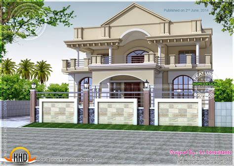 north indian exterior house indian house plans indian