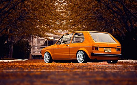 car  car volkswagen golf  stance wallpapers hd