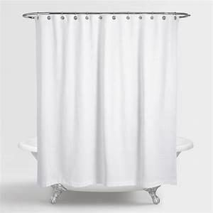 Waffle Weave Shower Curtain World Market