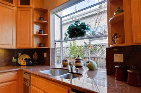kitchen sink garden window garden windows for kitchens upgrading the outlook right