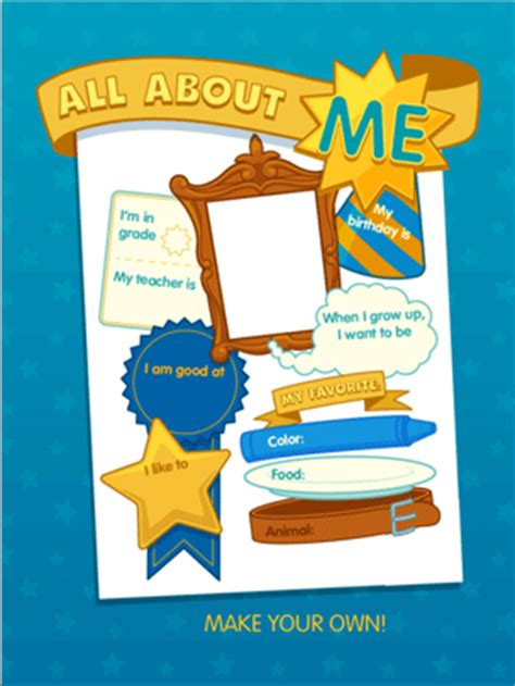 All About Me Abcya