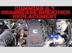 Cummins 67 Crankcase Breather ReplacementInstallation