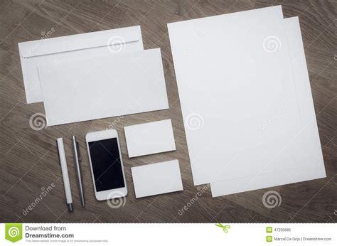 empty letterhead design template stock photo image