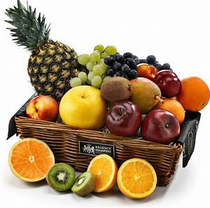 The Classic Fresh Fruit Basket - Regency Hampers