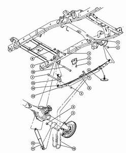 2006 Dodge Ram 1500 Absorber  Suspension  From 02  04  08