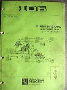 Peugeot 106 Wiring Diagram Manual 342 92 Listing In