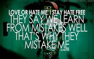 Quotes: Lil Way... Lil Wayne Wise Quotes