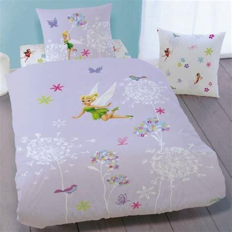 disney fairies housse de couette f 233 e clochette parure de lit enfant 100 coton fairies