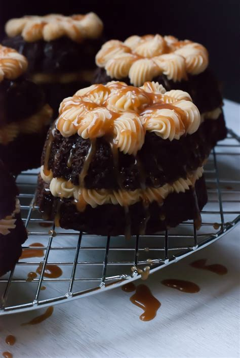 But you can make more in different small bundt pans. Guinness Stout Mini Bundt Cakes with Baileys Buttercream