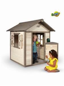 Maison De Jardin En Bois Enfant : maisonnette bois enfant lodge ~ Dode.kayakingforconservation.com Idées de Décoration
