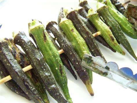 how to grill okra aji dulce peppers healthymamma s blog