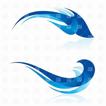 Water Flowing Vector Clipart Abstract Clip Clipartpanda