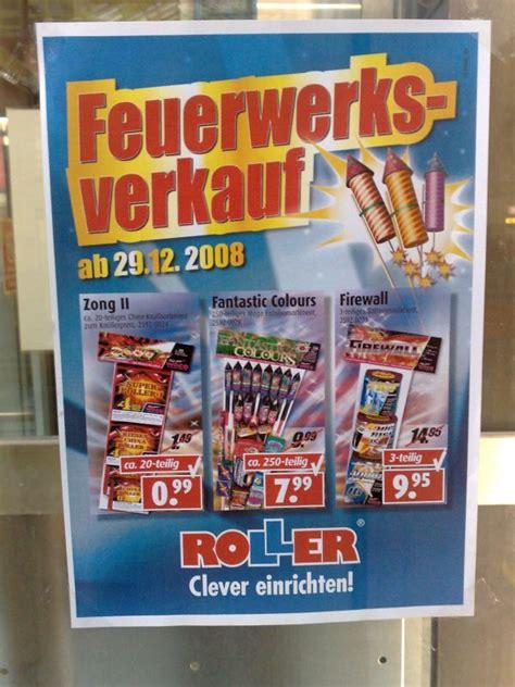 Feuerwerk Album  Roller Plakat