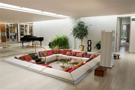 The Advantages And Disadvantages Of Sunken Living Rooms