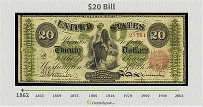 Bill Pocahontas History Currency American 1862 Dollar
